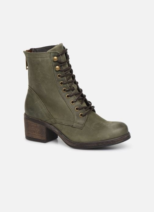 Ankle boots Bullboxer 490508E6L Green detailed view/ Pair view
