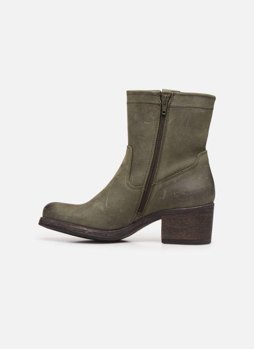 Bottines et boots Bullboxer 490516E6L Vert vue face
