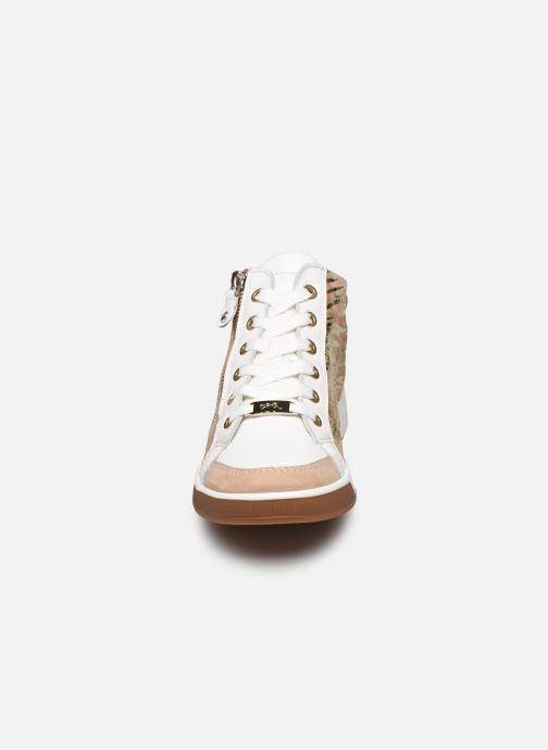 Sneakers Ara Plati OM st High Soft 34499 Marrone modello indossato