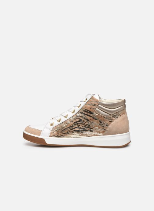 Sneakers Ara Plati OM st High Soft 34499 Marrone immagine frontale