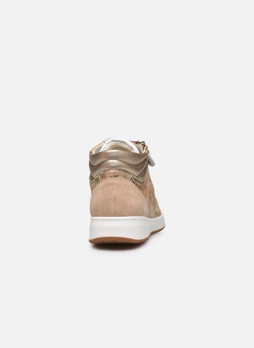 Sneakers Ara Plati OM st High Soft 34499 Marrone immagine destra
