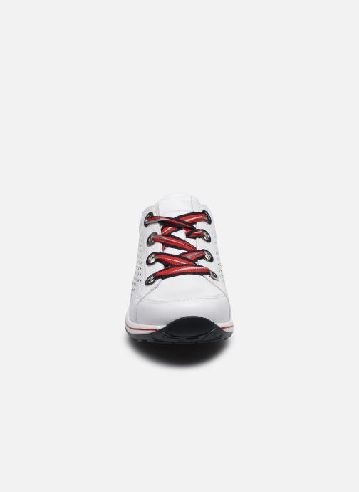 Baskets Ara Osaka Highsoft 34552 Blanc vue portées chaussures