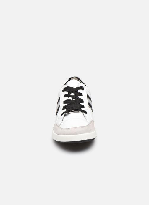 Baskets Ara Lazio HighSoft 33302 Blanc vue portées chaussures