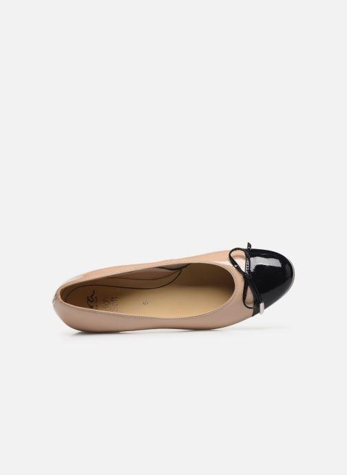 Ballerinas Ara Bari Hs 43721 beige ansicht von links