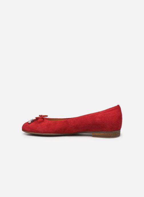 Bailarinas Ara Rdinia HighSoft 31324 Rojo vista de frente