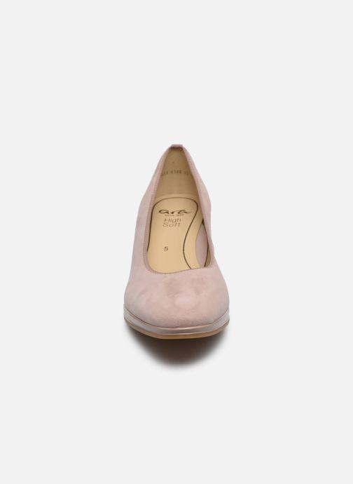 Escarpins Ara Orly Highsoft 13436 Rose vue portées chaussures