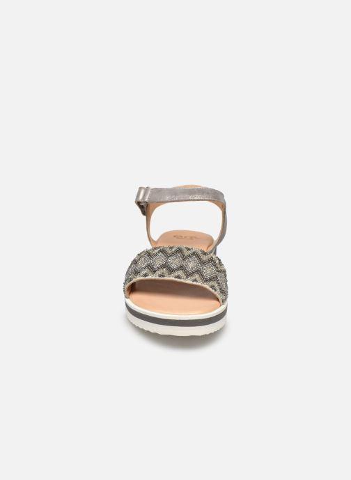 Sandali e scarpe aperte Ara Durban Sport 14711 Grigio modello indossato