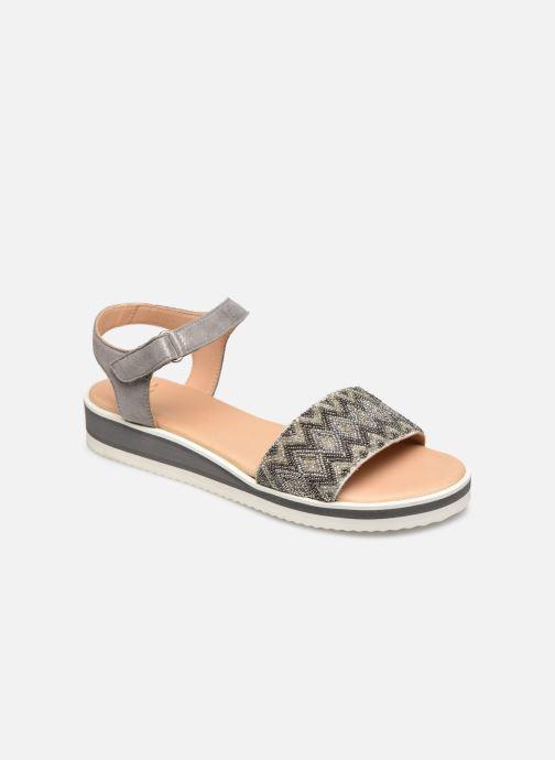 Sandales et nu-pieds Ara Durban Sport 14711 Gris vue détail/paire