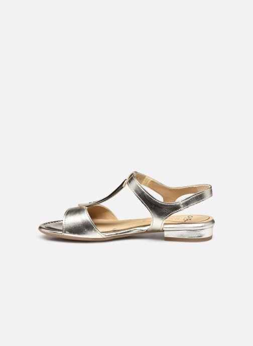 Sandales et nu-pieds Ara Vegas HighSoft 16839 Or et bronze vue face