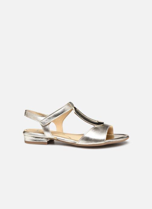 Sandales et nu-pieds Ara Vegas HighSoft 16839 Or et bronze vue derrière
