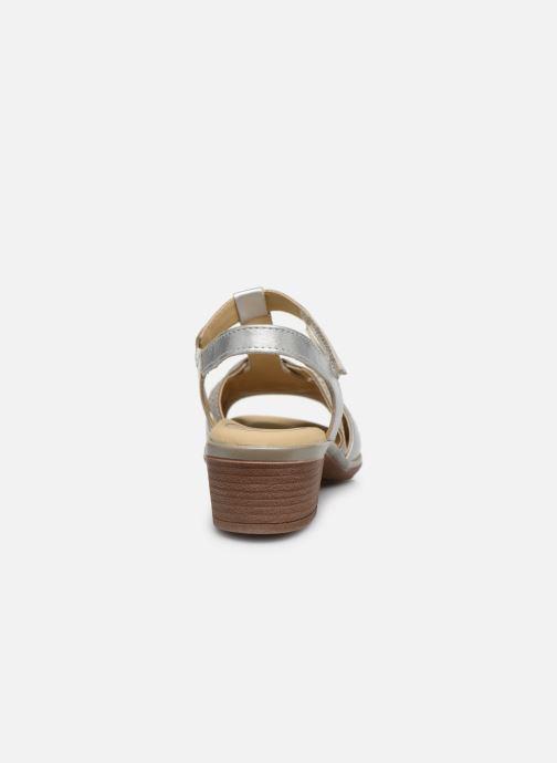 Sandales et nu-pieds Ara Gano HighSoft 35736 Argent vue droite