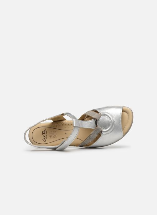 Sandals Ara Gano HighSoft 35736 Silver view from the left