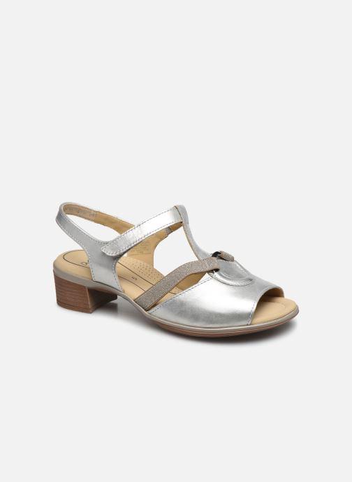 Sandals Ara Gano HighSoft 35736 Silver detailed view/ Pair view