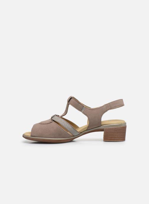 Sandales et nu-pieds Ara Gano HighSoft 35736 Marron vue face