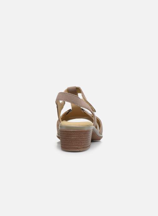 Sandales et nu-pieds Ara Gano HighSoft 35736 Marron vue droite