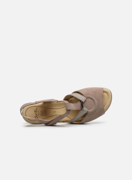 Sandales et nu-pieds Ara Gano HighSoft 35736 Marron vue gauche
