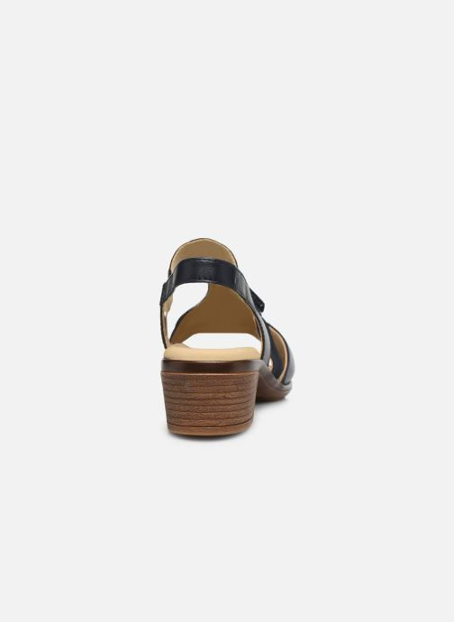 Sandali e scarpe aperte Ara Gano HighSoft 35736 Azzurro immagine destra
