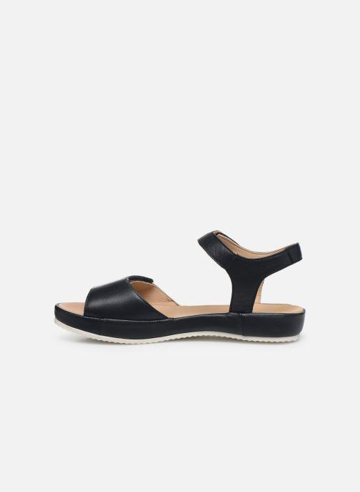 Sandales et nu-pieds Ara Dubai 15187 Bleu vue face