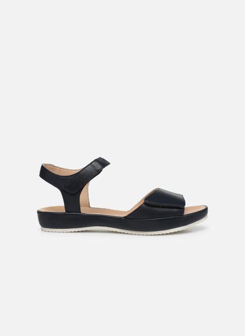 Sandales et nu-pieds Ara Dubai 15187 Bleu vue derrière