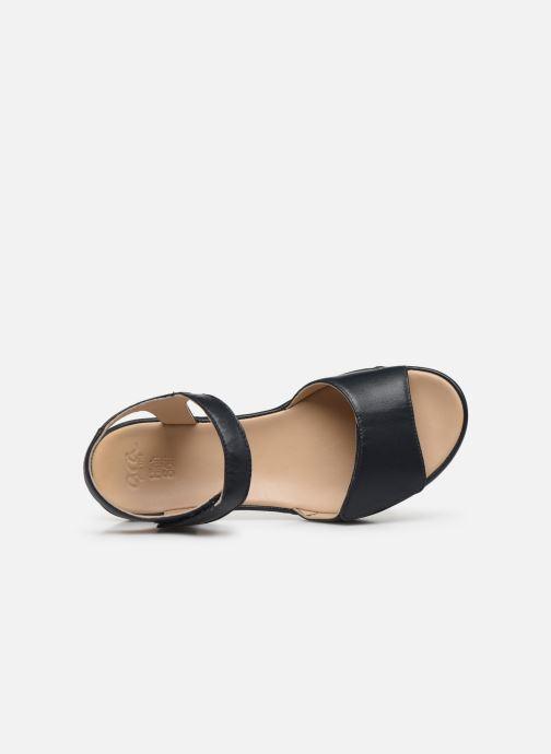 Sandales et nu-pieds Ara Dubai 15187 Bleu vue gauche