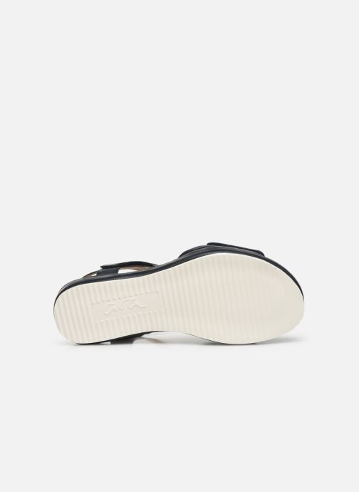 Sandales et nu-pieds Ara Dubai 15187 Bleu vue haut