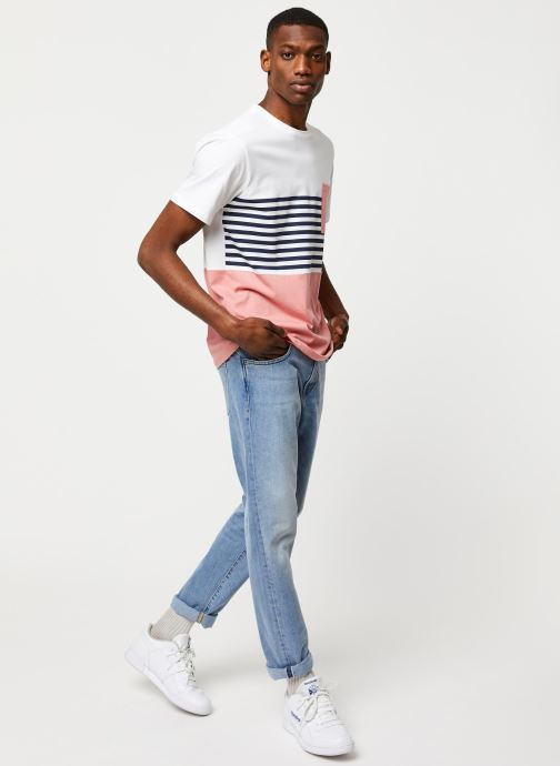 Kleding Only & Sons Onsdel Mar SS Tee Wit onder