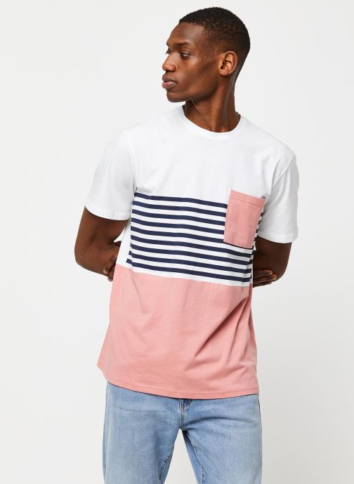 Kleding Only & Sons Onsdel Mar SS Tee Wit rechts