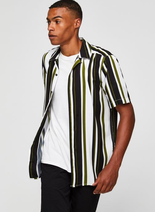 Kleding Only & Sons Onswayni SS Shirt Wit detail