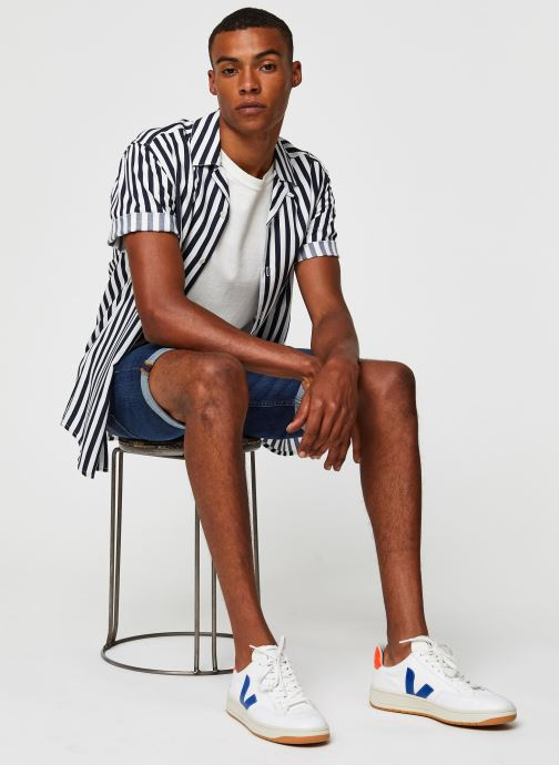 Vêtements Only & Sons Onswayne SS Shirt Blanc vue bas / vue portée sac