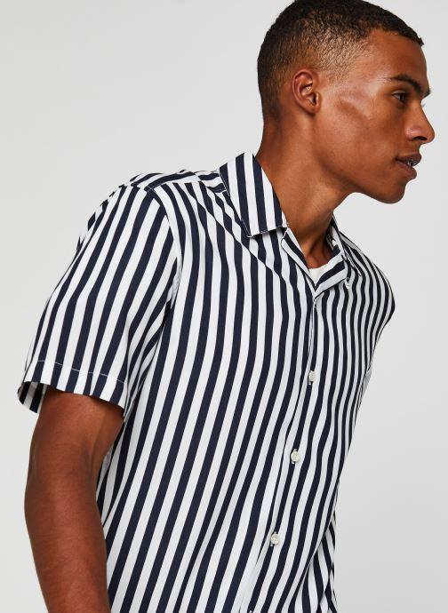 Vêtements Only & Sons Onswayne SS Shirt Blanc vue face