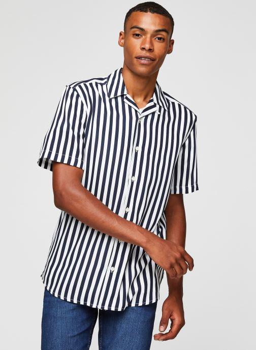 Vêtements Only & Sons Onswayne SS Shirt Blanc vue droite