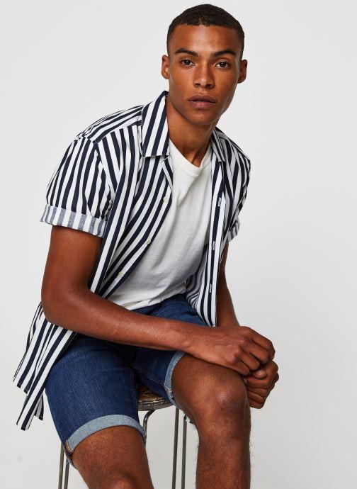 Vêtements Only & Sons Onswayne SS Shirt Blanc vue détail/paire