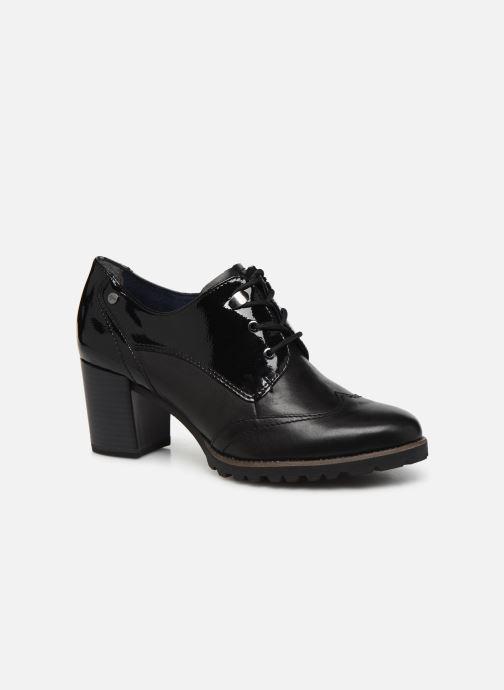 Snøresko Tamaris ORFEN Sort detaljeret billede af skoene