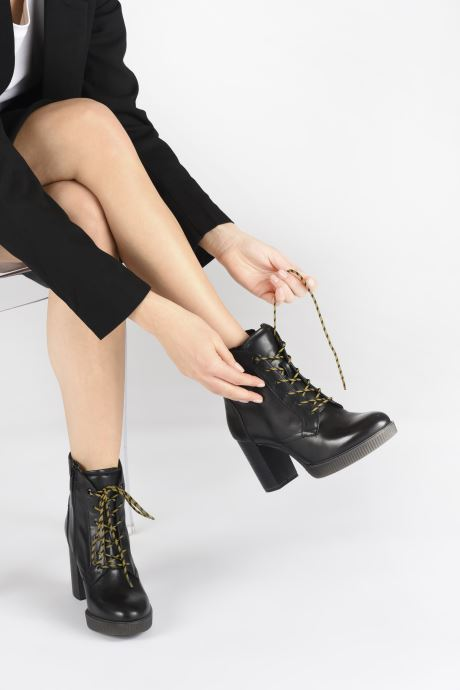 Bottines et boots Tamaris ARCADE Noir vue bas / vue portée sac