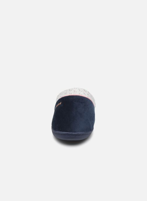 Pantuflas Dim D Tantale C Azul vista del modelo