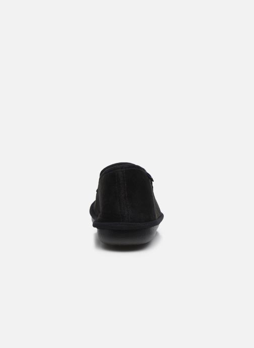 Pantuflas Dim D Ablacat C Negro vista lateral derecha