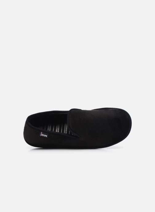 Pantuflas Dim D Ablacat C Negro vista lateral izquierda