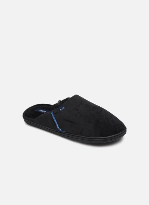 Slippers Dim D Fabian C Black detailed view/ Pair view