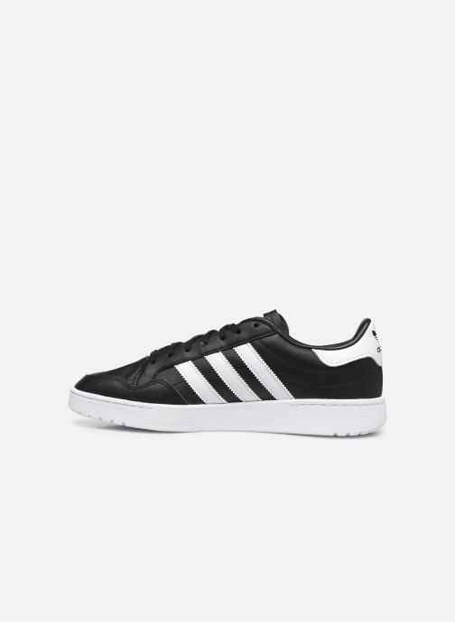 Baskets adidas originals Modern 80 Eur Court Noir vue face