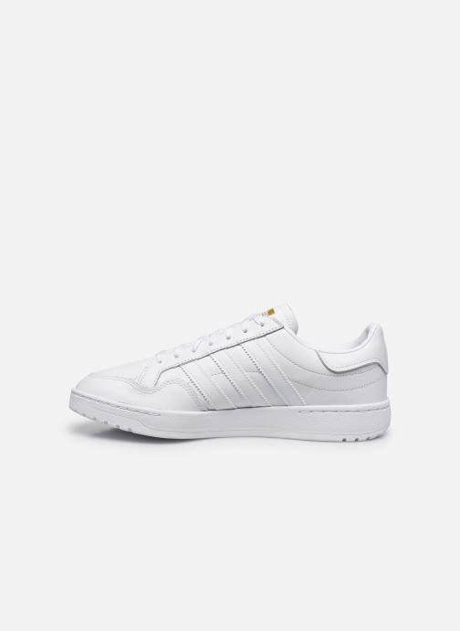 Baskets adidas originals Modern 80 Eur Court Blanc vue face