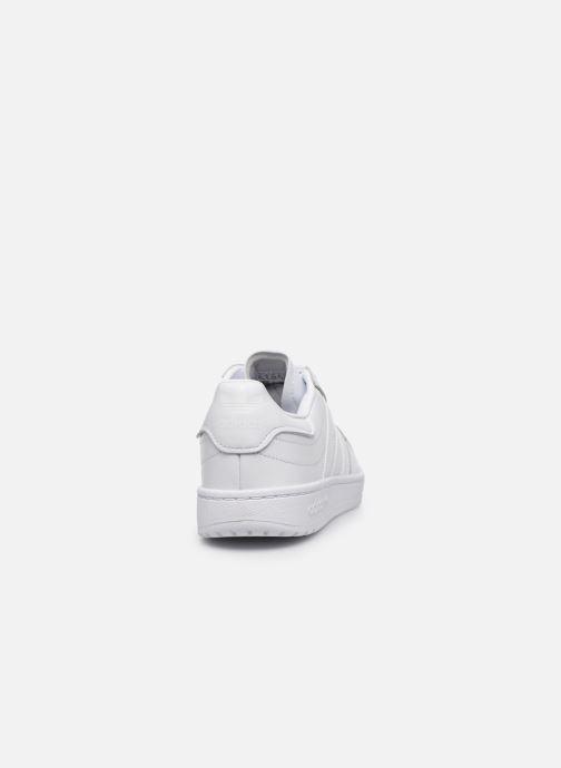 Baskets adidas originals Modern 80 Eur Court Blanc vue droite