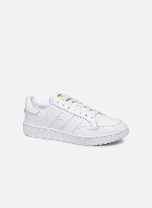 Baskets adidas originals Modern 80 Eur Court Blanc vue détail/paire