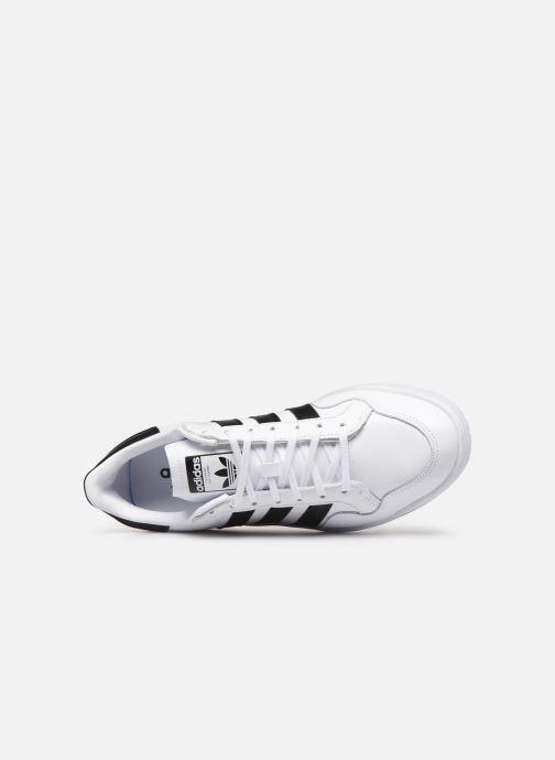 Baskets adidas originals Modern 80 Eur Court Blanc vue gauche