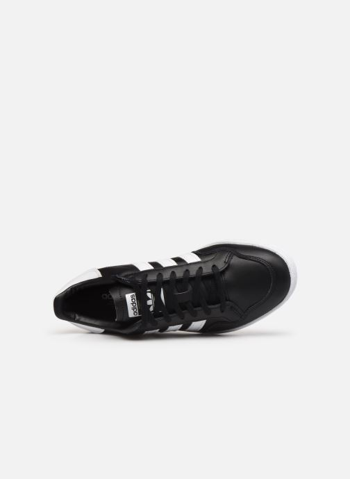 Sneakers adidas originals Modern 80 Eur Court W Nero immagine sinistra