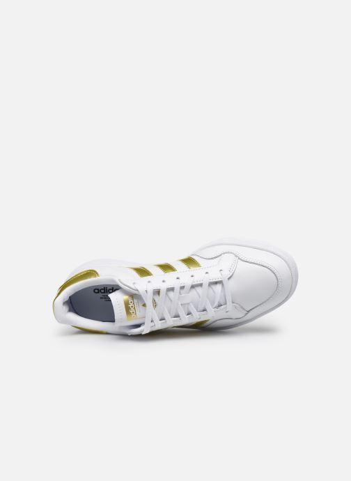 Baskets adidas originals Modern 80 Eur Court W Blanc vue gauche