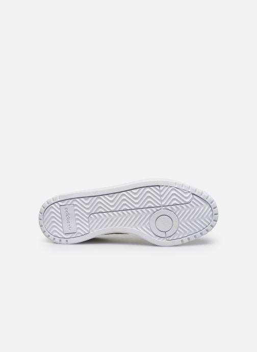 Baskets adidas originals Modern 80 Eur Court W Blanc vue haut
