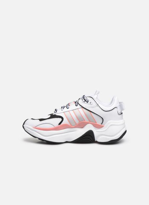 Sneakers adidas originals Magmur Runner W Wit voorkant