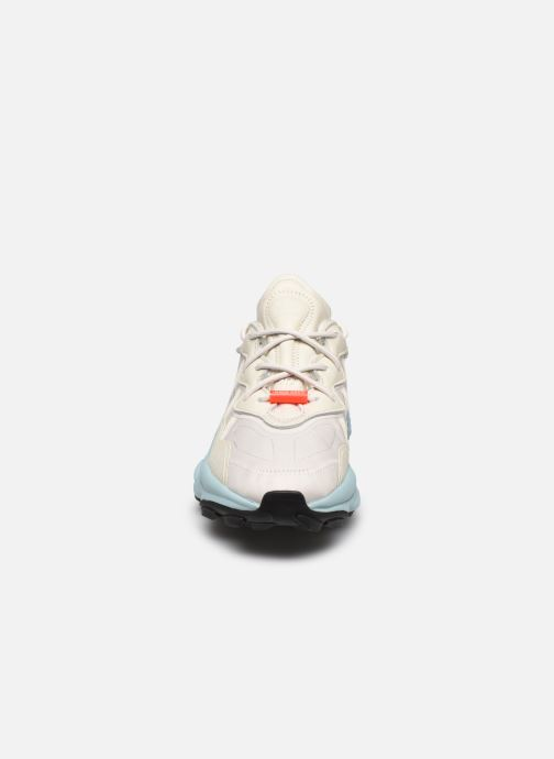 Baskets adidas originals Ozweego Tr W Beige vue portées chaussures