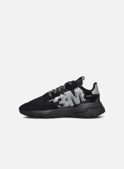 Baskets adidas originals Nite Jogger Noir vue face
