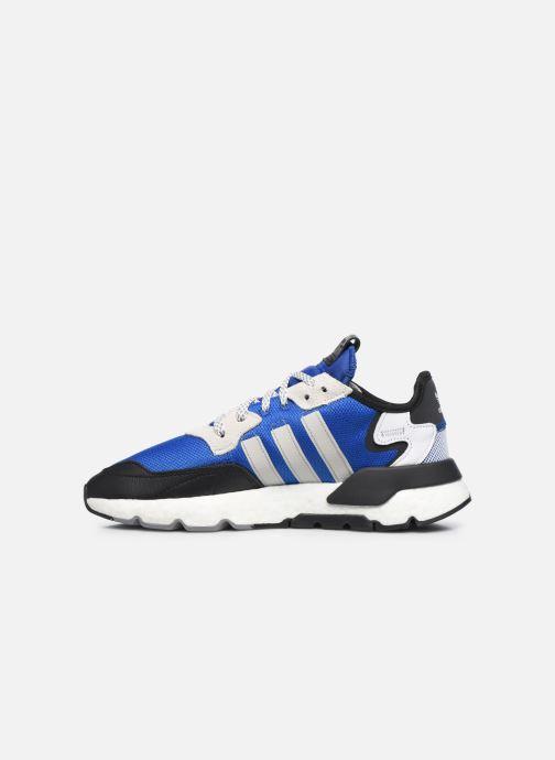 Sneaker adidas originals Nite Jogger M blau ansicht von vorne